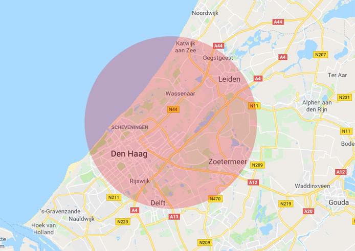Werkgebied RRS Den Haag